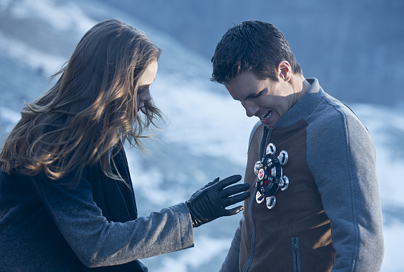 Robbie Amell as Ronnie in The Flash Episode 12, 'The Nuclear Man'
