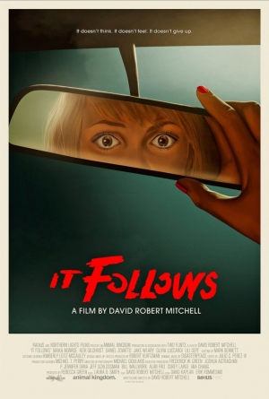 It Follows retro art poster is scary good