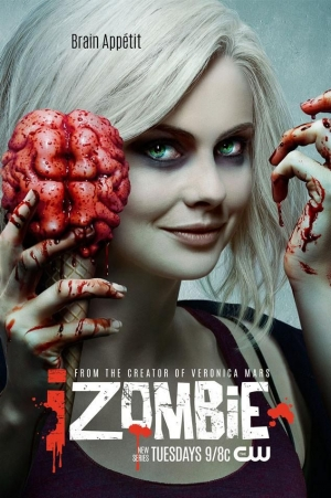iZombie new poster is gruesome but in the best way