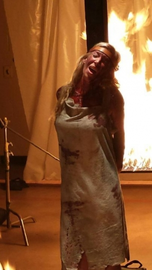 Martyrs remake new picture is burning up