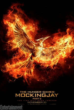 Hunger Games: Mockingjay Part 2 breaks free with a new poster