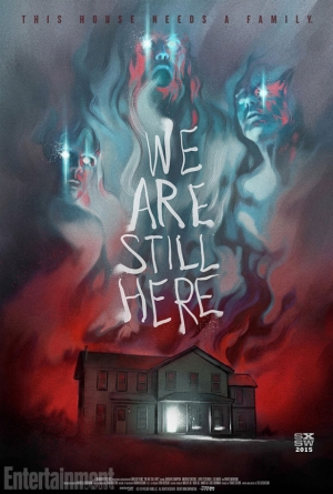 We Are Still Here beautiful art poster for SXSW horror