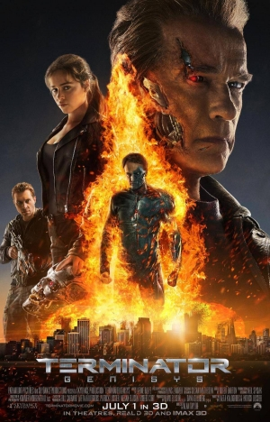 Terminator Genisys new poster is fiery and underwhelming