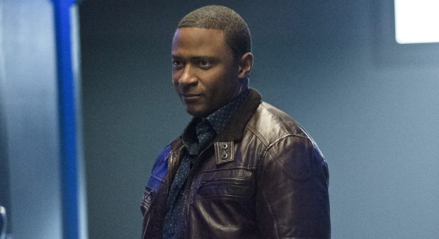 David Ramsey as John Diggle in The CW's Arrow