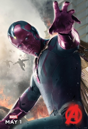 Avengers 2 poster sees Vision deploy Blue Steel