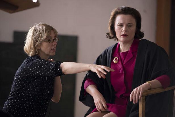 Carol Morley directing Monica Dolan
