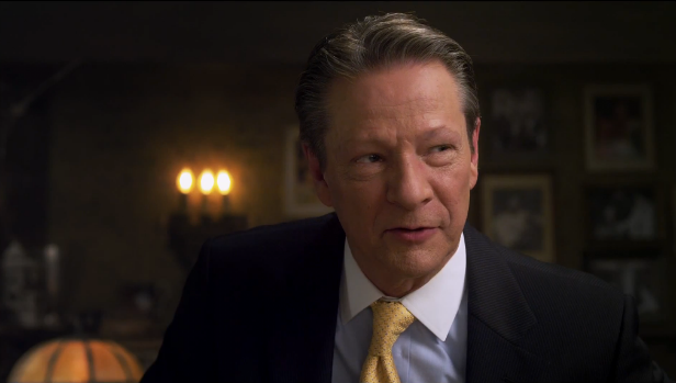 Chris Cooper as Tex Richman in The Muppets