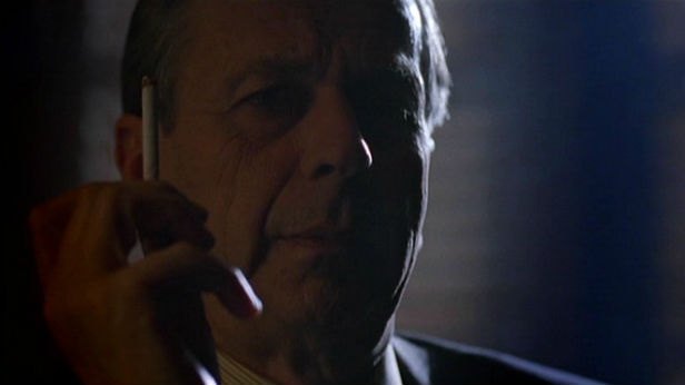 William B Davis as Cigarette Smoking Man