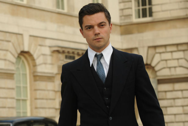 Dominic Cooper as Fleming in Fleming