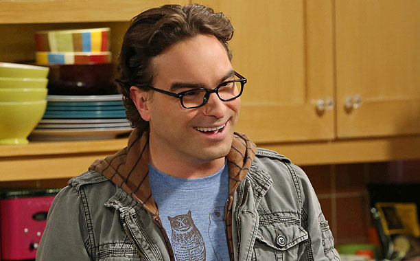 Johnny Galecki in The Big Bang Theory