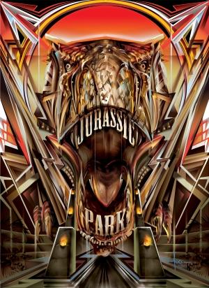 Poster Posse x SciFiNow: Orlando Arocena takes on Jurassic Park