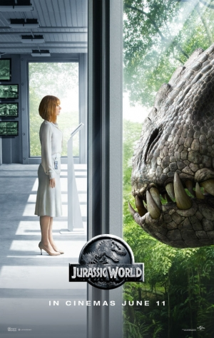 Jurassic World poster should step away from the glass