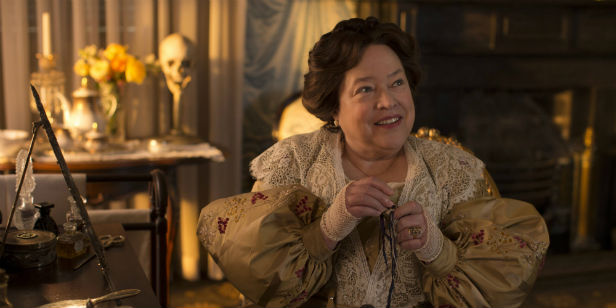 Kathy Bates as Madame Delphine in American Horror Story: Coven