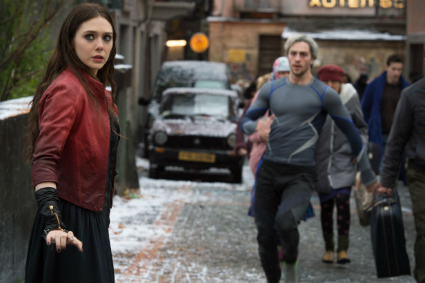 Quicksilver Scarlet Witch Avengers 2