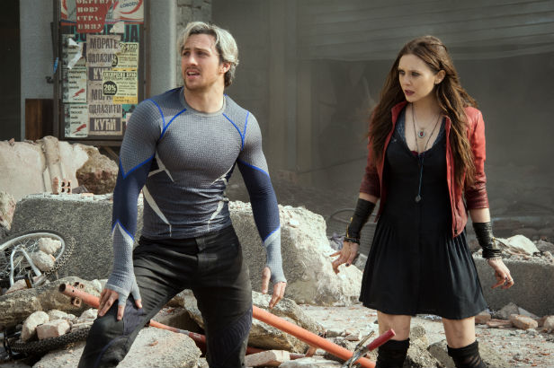 Quicksilver Scarlet Witch Avengers