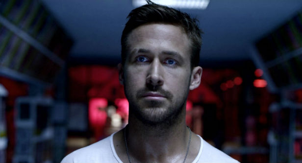 Ryan Gosling and his steely blue eyes in Only God Forgives