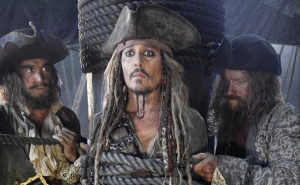Pirates Of The Caribbean 5 first Captain Jack picture