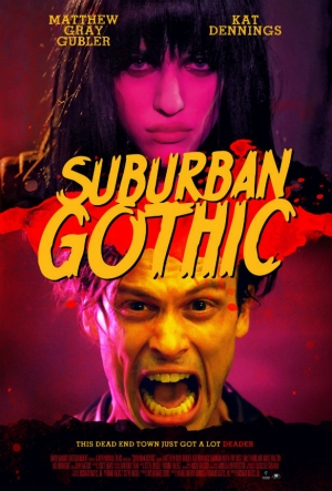 Suburban Gothic poster for Kat Dennings horror comedy