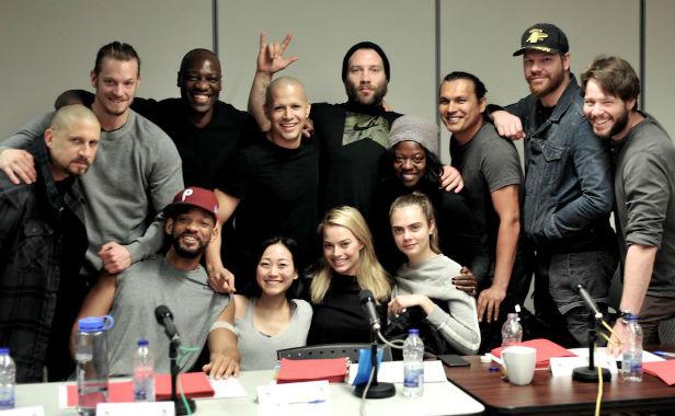 Suicide Squad cast pic