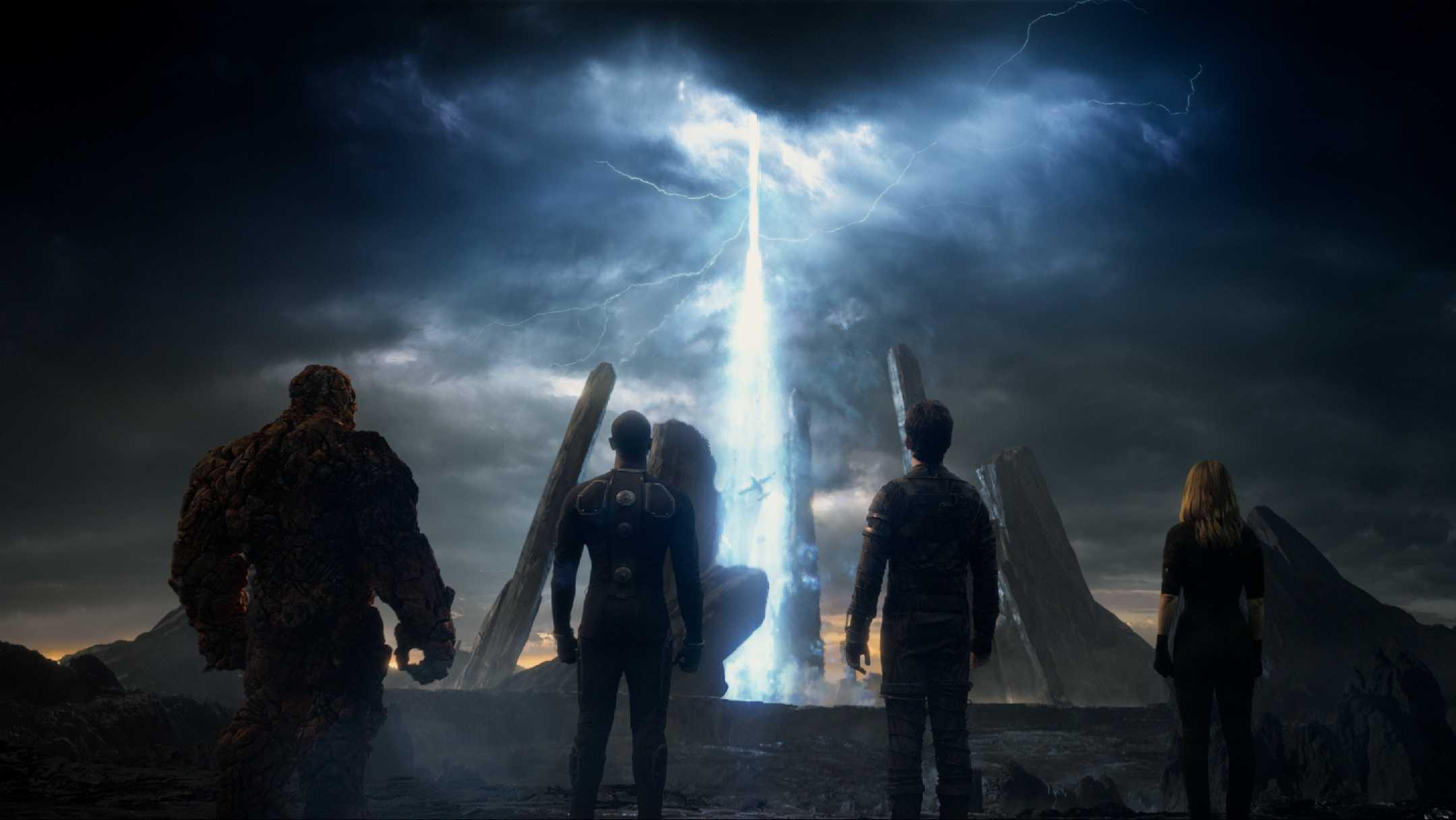 The cast of Josh Trank's The Fantastic Four