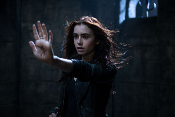 Lily Collins in The Mortal Instruments