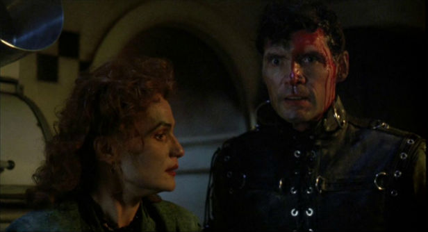 Wendy Robie and Everett McGill in The People Under The Stairs