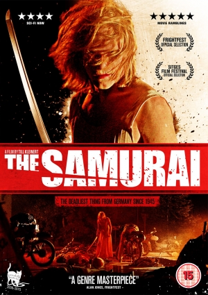 Win The Samurai signed DVD and poster with our competition!