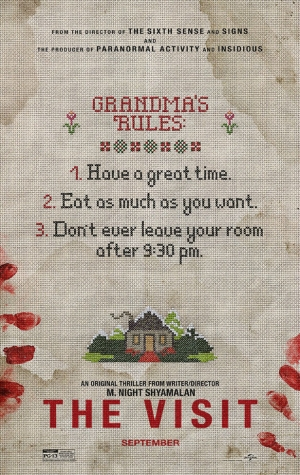 M Night Shyamalan's The Visit gets a creepy first poster
