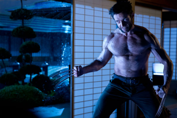 Hugh Jackman about to go Berserker in The Wolverine
