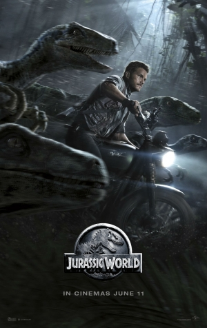 Jurassic World new posters: shark attack and raptor hunts