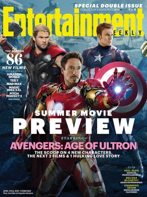 Avengers: Age Of Ultron EW interlocking covers are rad