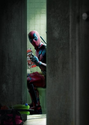 Deadpool new picture sets the tone for the entire film