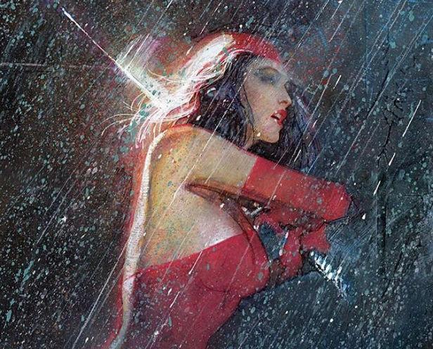 Elektra, by Bill Sienkiewicz