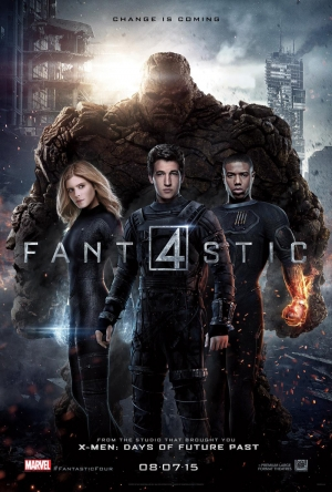 Fantastic Four new poster is very grown up and serious