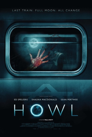 Howl new poster for werewolves on a train horror