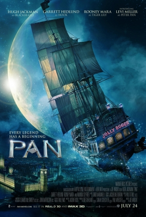 Pan new poster: the Jolly Roger is up and away