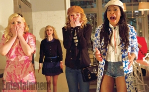 Scream Queens first stills are fancy and horrified