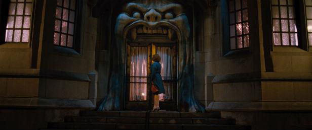Billy (Christina Hendricks) enters a nightmarish world to save her family