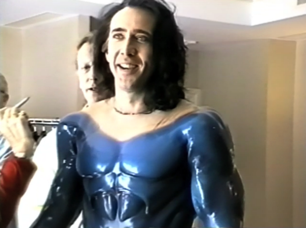 Nic Cage in The Death of Superman Lives What Happened