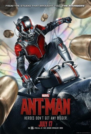 Ant-Man new poster goes big and rides a mighty steed