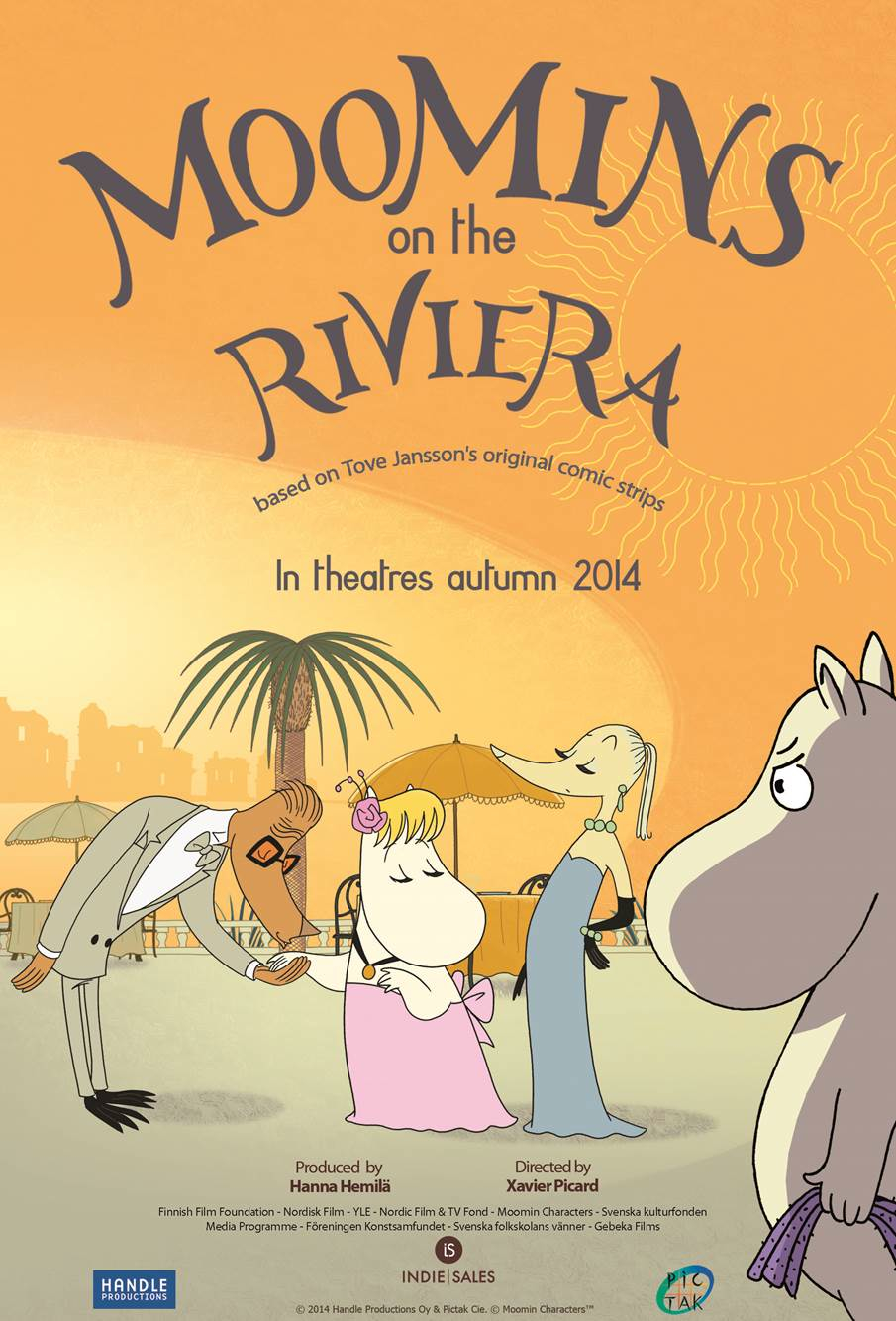 Moomins On The Riviera film review: holiday fun