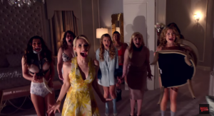 Scream Queens trailer there's a serial killer on campus