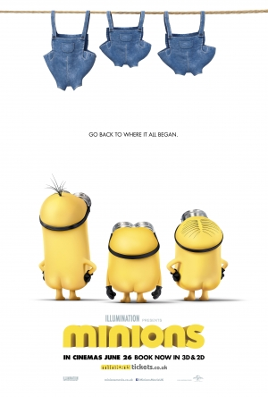 Minions new poster is all about that bass