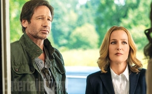 X-Files news stills give a look at the revival series