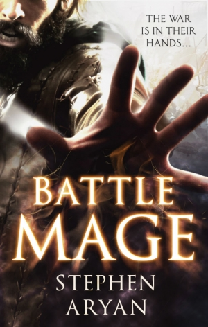 BattleMage by Stephen Aryan exclusive cover reveal