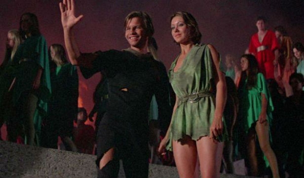 Michael York and Jenny Agutter in Logan's Run