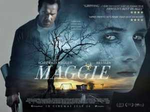 Maggie new poster for moody Arnie zombie drama