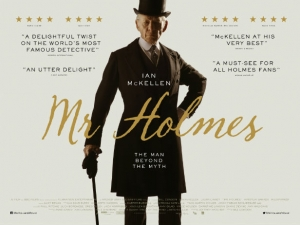 Design an alternative film poster for new film Mr Holmes