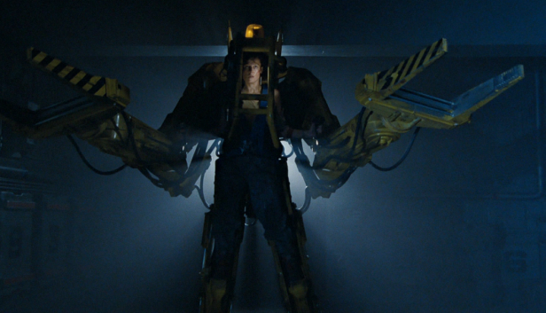 Ellen Ripley's Power Loader in Aliens