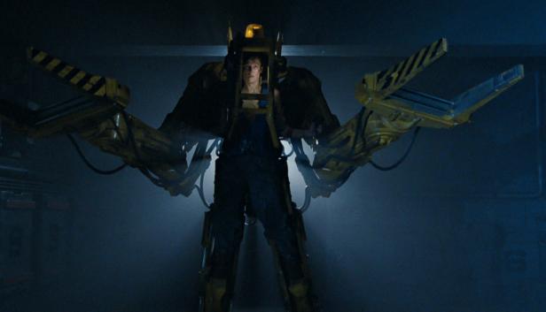 Ellen Ripley's Power Loader in Aliens